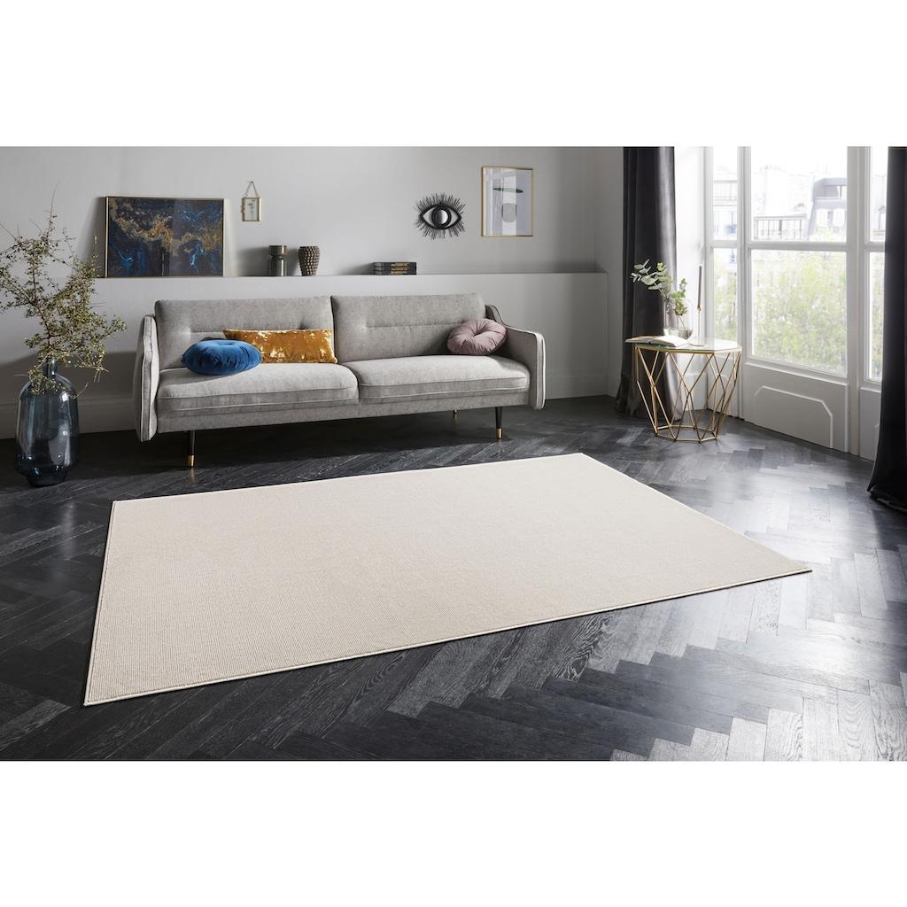 ELLE Decor Teppich »Alagnon«, rechteckig, 6 mm Höhe, Viskose, Wohnzimmer