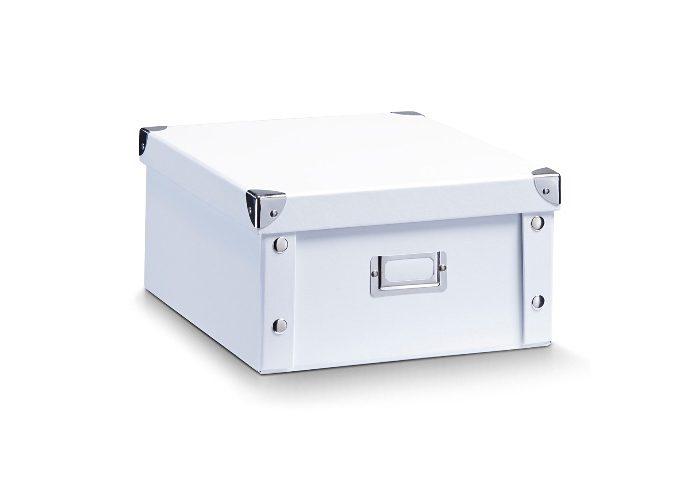 Zeller Present Aufbewahrungsbox, Breite 31 cm (2 Stck.) weiß Kleideraufbewahrung Aufbewahrung Ordnung Wohnaccessoires Aufbewahrungsbox