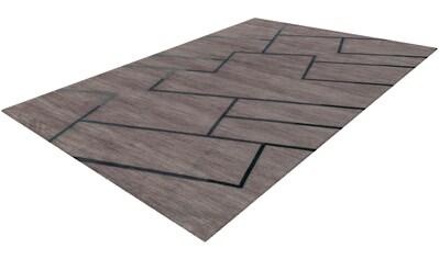 calo-deluxe Teppich »Aldarte 4289«, rechteckig, 10 mm Höhe, Kurzflor, Wohnzimmer kaufen