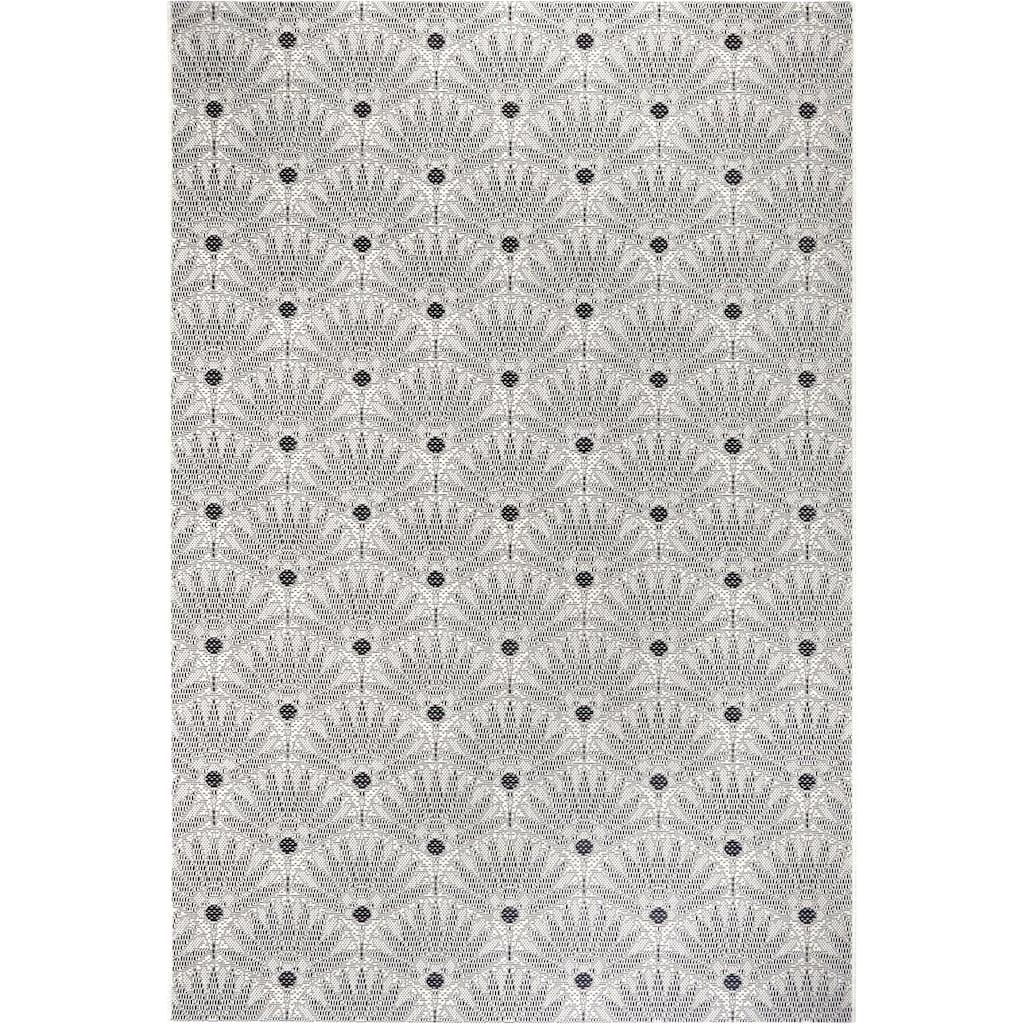 Leonique Teppich »Kaia«, rechteckig, 3 mm Höhe, Wohnzimmer, In- und Outdoor geeignet