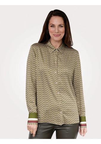 Mona Hemdbluse, mit attraktivem Druckmix kaufen