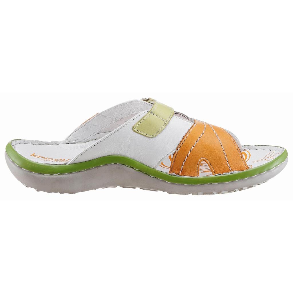 KRISBUT Sandalette, in sportiver Optik
