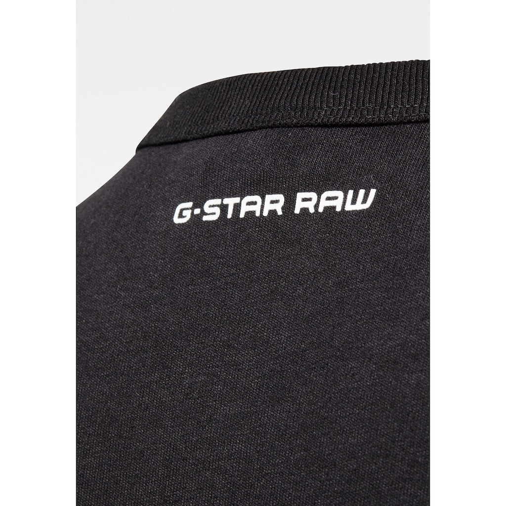 G-Star RAW Rundhalsshirt »Badge Logo Tee«
