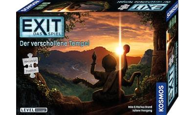 """Kosmos Spiel, """"EXIT – Der verschollene Tempel"""" kaufen"""