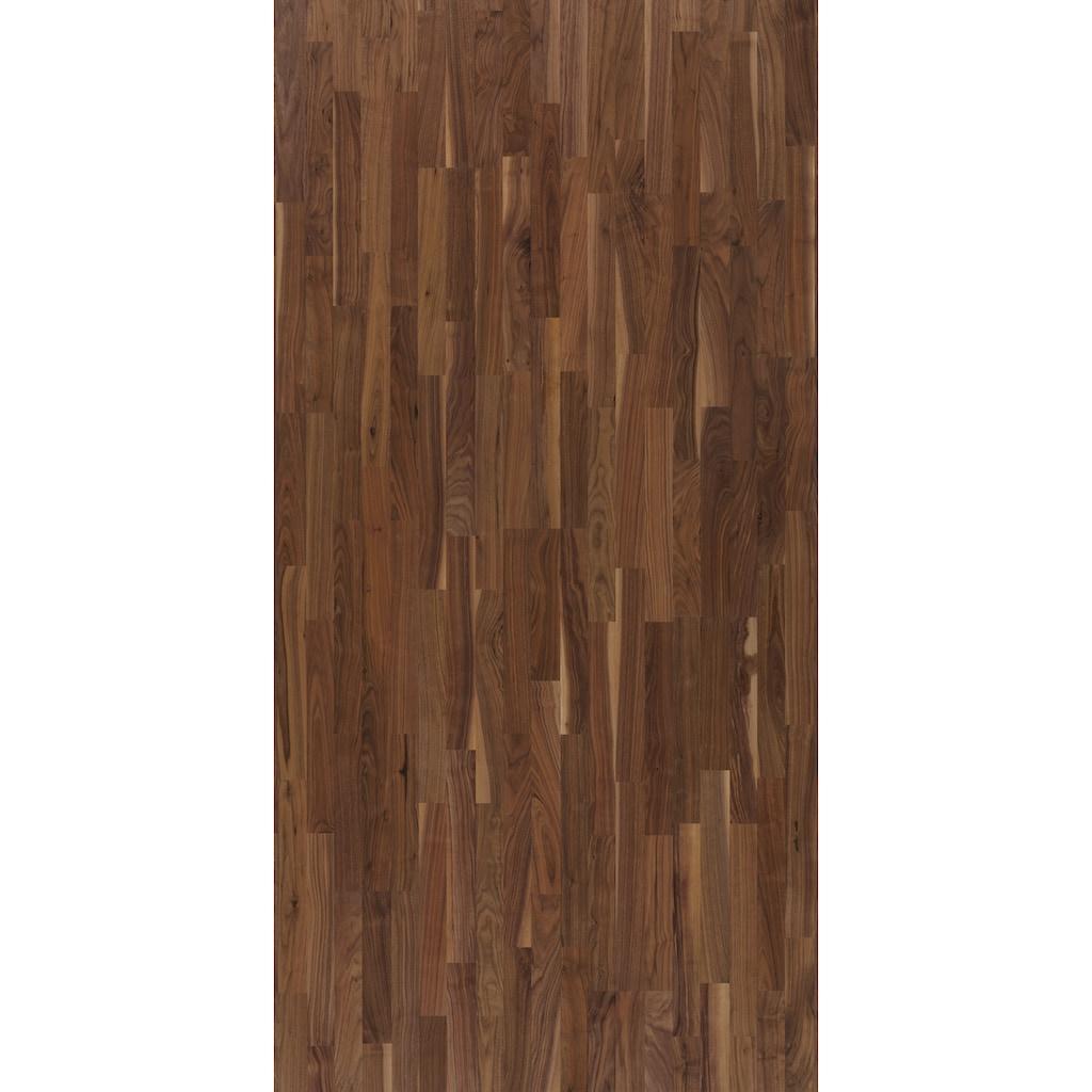 PARADOR Parkett »Eco Balance Natur - schwarz Nussbaum europ.«, ohne Fuge, 2200 x 185 mm, Stärke: 13 mm, 3,66 m²