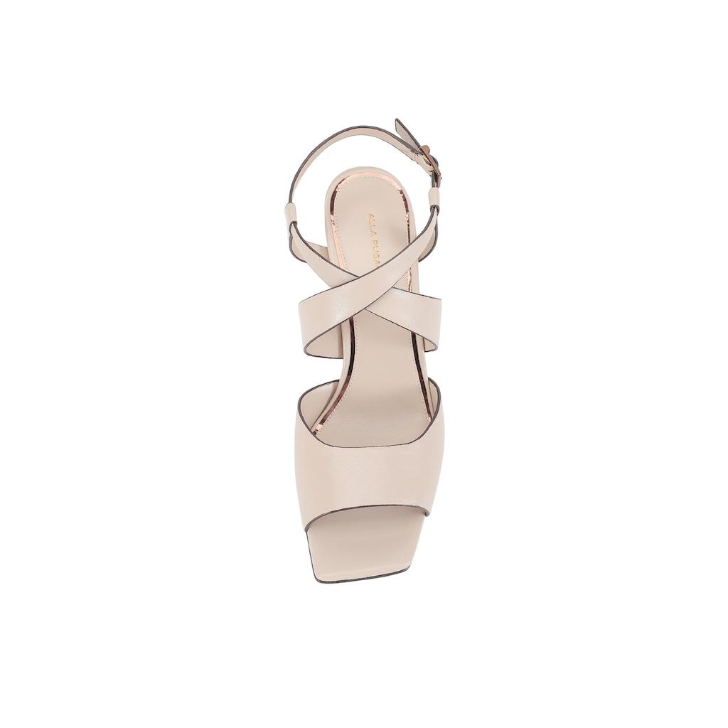ekonika Sandale, hergestellt aus weichem Leder