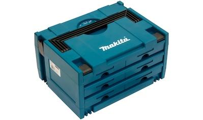 Makita Werkzeugbox »P-84333 MAKSTOR Modell 3.6«, 6 Schubladen, 395x295x215 mm kaufen