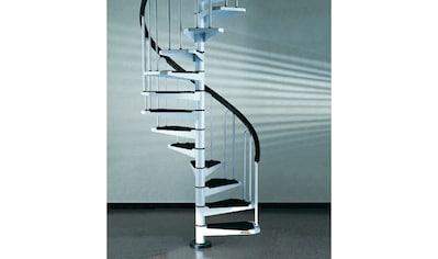 STARWOOD Spindeltreppe »AF26«, B: 120 cm, 11 Stufen, weiß kaufen