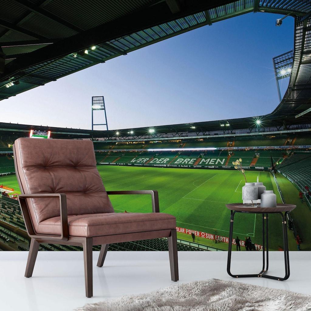 Wall-Art Fototapete »Werder Bremen - Weserstadion Innen«