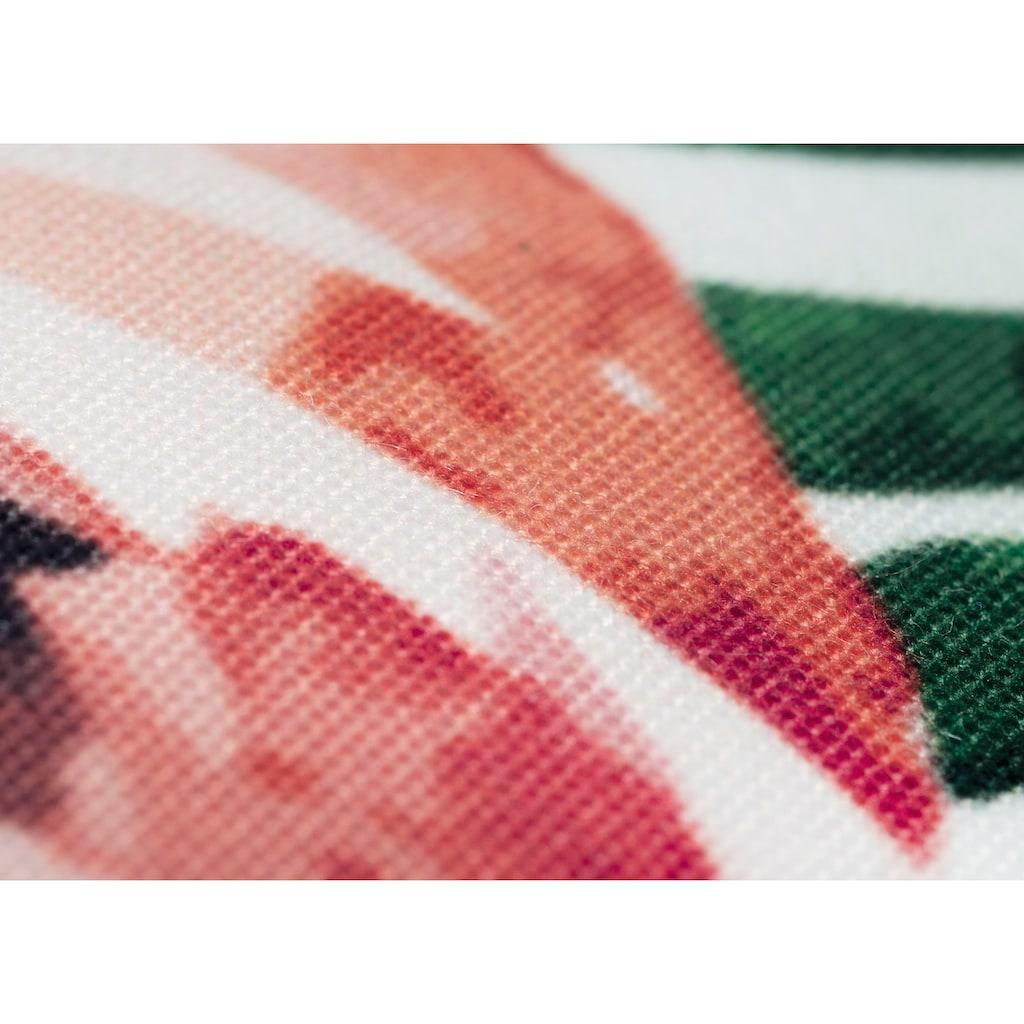 Andiamo Dekokissen »Nairobi«, Zierkissen, eckig, 40x40 cm, inkl. Kissenfüllung, In- und Outdoor geeignet, Wohnzimmer