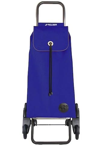 ROLSER Einkaufstrolley »Logic RD6 I - Max MF«, mit 6 Rädern, zuzammenplappbar, Treppensteiger kaufen