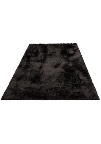 Home affaire Hochflor-Teppich »Malin«, rechteckig, 43 mm Höhe, Shaggy, Uni Farben,... kaufen