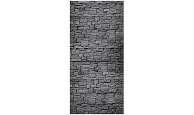 MySpotti Spritzschutz »fresh Steinwand Anthrazit«, 100 x 210 cm kaufen