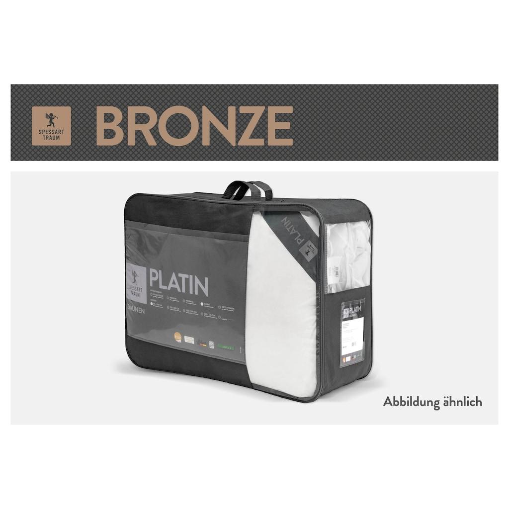 SPESSARTTRAUM Baumwollbettdecke »Bronze«, normal, (1 St.), hergestellt in Deutschland, allergikerfreundlich