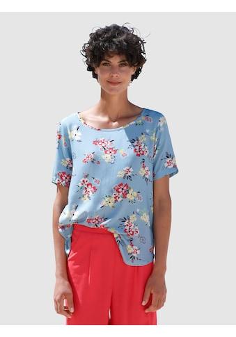 Dress In Bluse mit tollem Druck kaufen