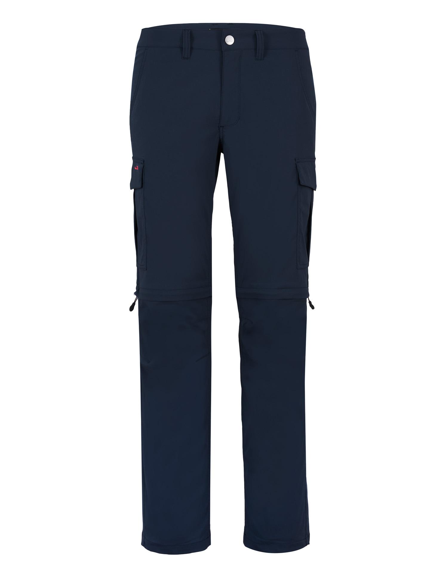 Jeff Green Zip-off-Hose Phill blau Herren Zipp-Off-Hosen Outdoorhosen Hosen