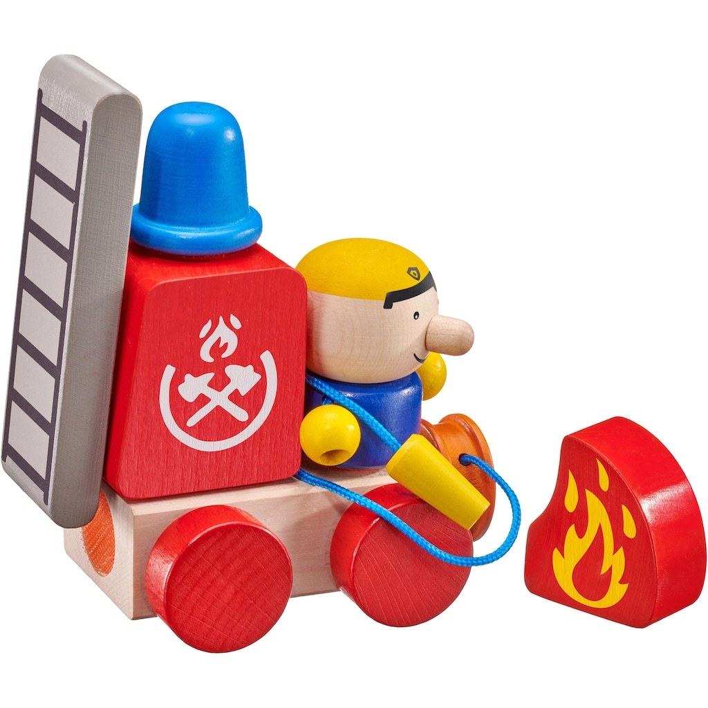 Selecta Stapelspielzeug »Klettini® Feuerwehr«, Made in Germany