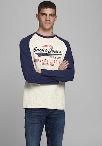 Jack & Jones Langarmshirt »JJERAGLAN« kaufen
