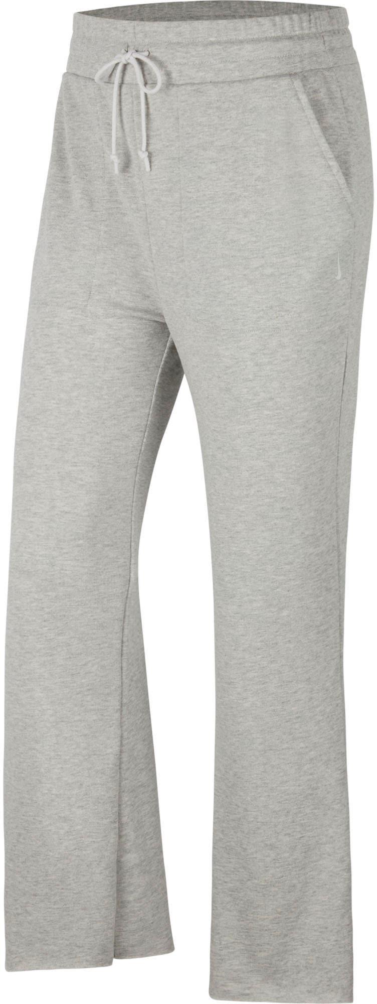 Nike Yogahose 7/8 Flare Pant grau Damen Hosen Knöchelhose
