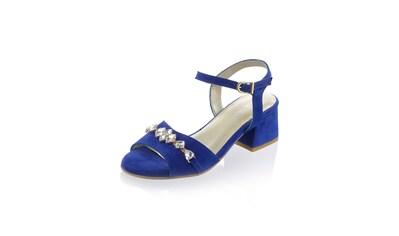 Alba Moda Sandalette aus weichem Veloursleder kaufen