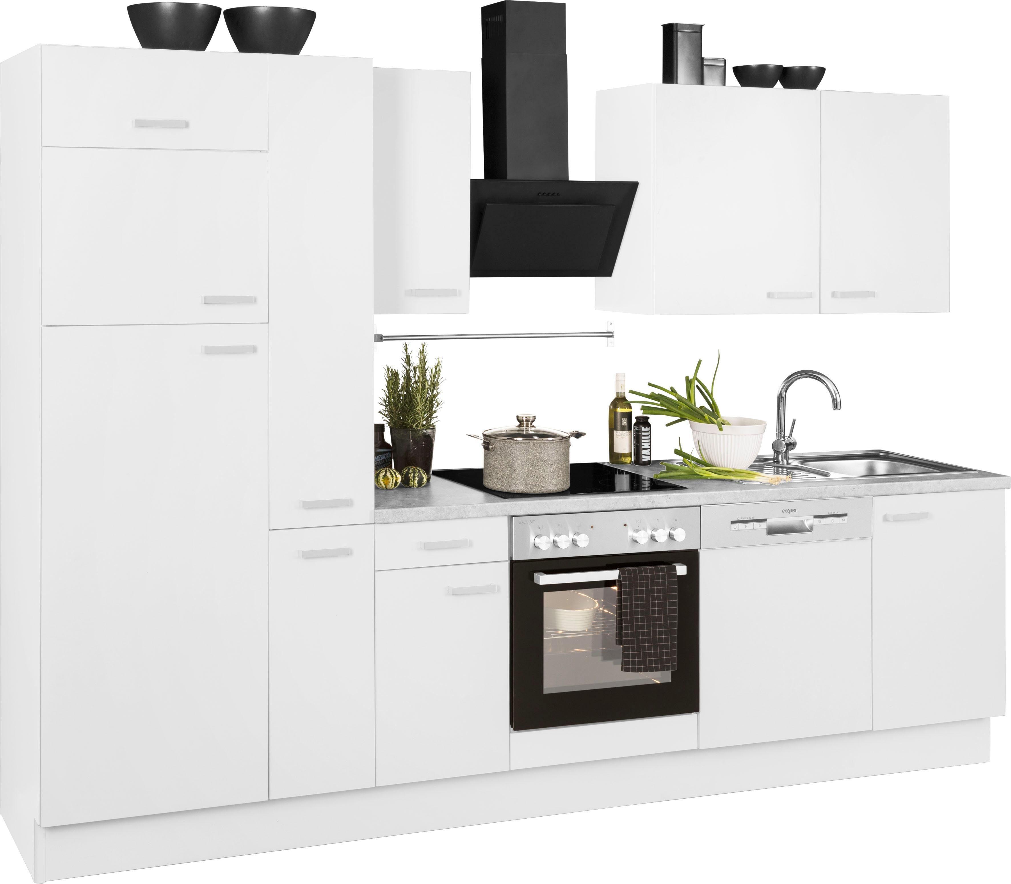 OPTIFIT Küchenzeile Parma Wohnen/Möbel/Küchenmöbel/Küchenzeilen & -blöcke/Küchenzeilen mit Geräten