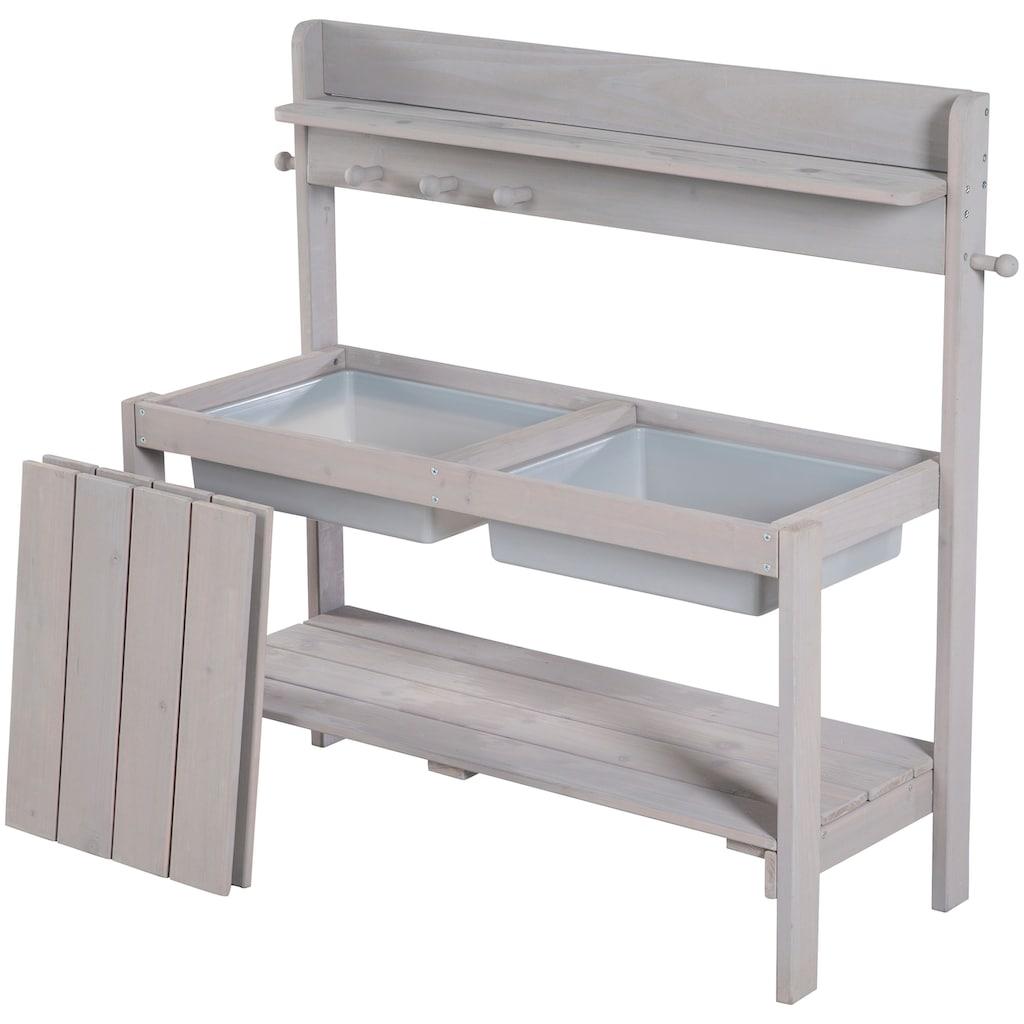 roba® Outdoor-Spielküche »Gartenküche FUN Outdoor+«, grau