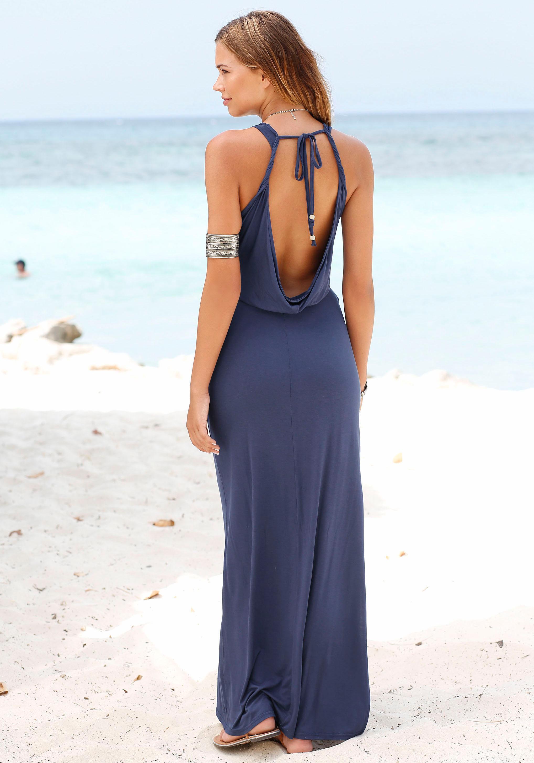 sOliver Beachwear Maxikleid