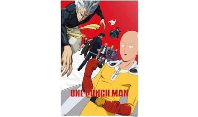 Reinders! Poster »One Punch Man Japan - Webcomic - Manga - Superheld Saitama«, (1 St.) kaufen