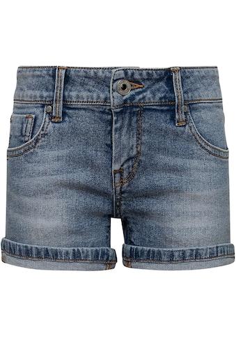 Pepe Jeans Jeansshorts »Foxtail«, mit kleinem Aufschlag kaufen