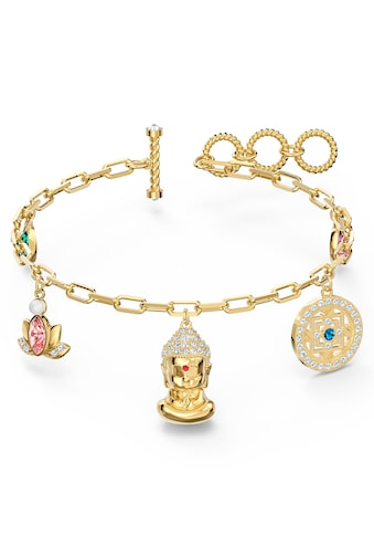Swarovski Armband »Swarovski Symbolic Buddha, mehrfarbig hell, vergoldet, 5514410« kaufen