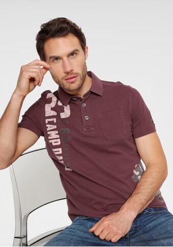 CAMP DAVID Poloshirt, mit Brusttasche kaufen