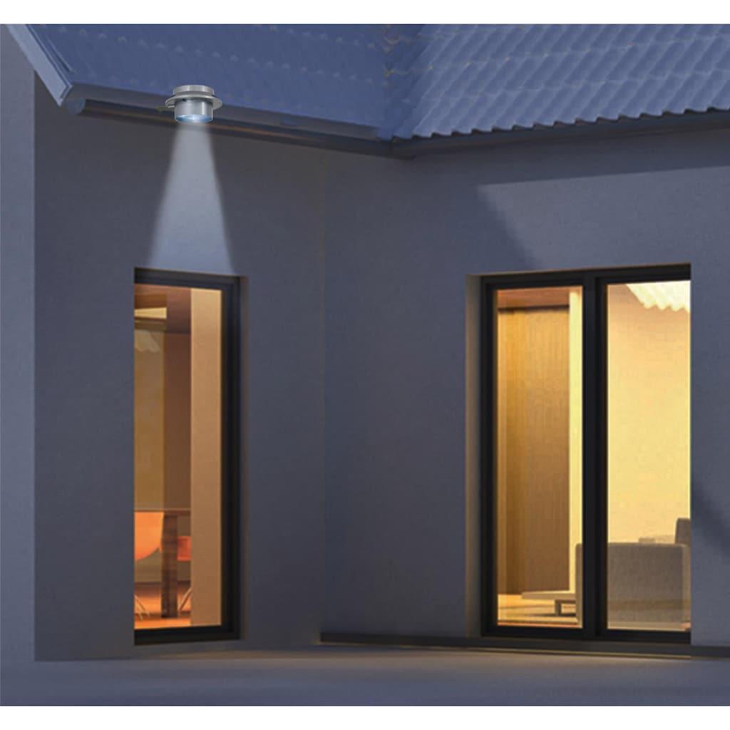 näve LED Dachrinnenleuchte »LED Solar Leuchten - 6er Set«, LED-Board, Tageslichtweiß, Wetterfest