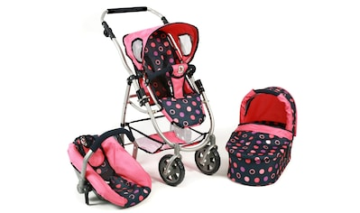 CHIC2000 Kombi-Puppenwagen »Emotion All In 3in1, Corallo«, inkl. Babywanne, Babyschale... kaufen