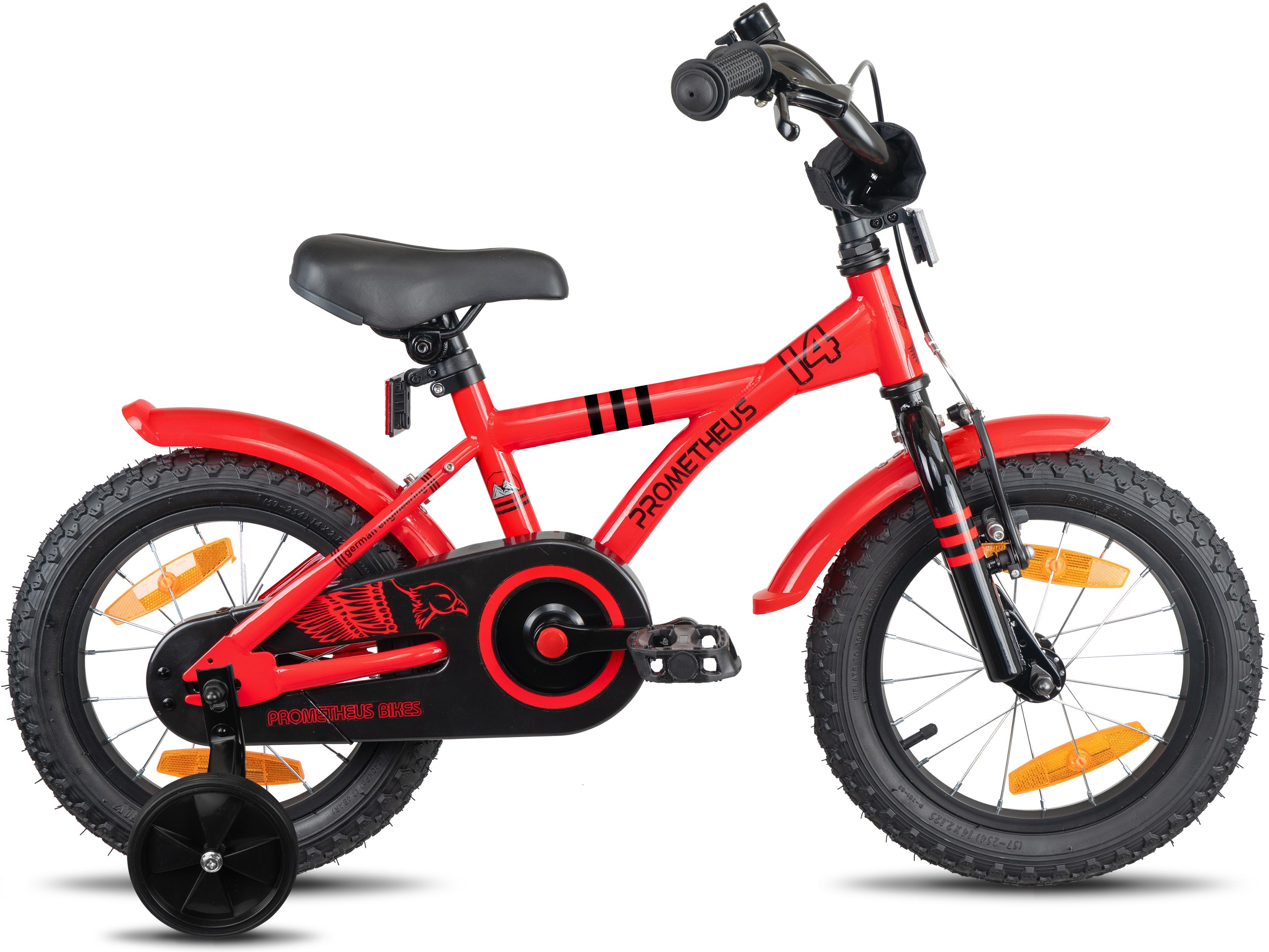 PROMETHEUS BICYCLES Kinderfahrrad Hawk, 1 Gang rot Kinder Kinderfahrräder Fahrräder Zubehör Fahrrad