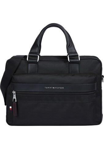 TOMMY HILFIGER Messenger Bag »ELEVATED NYLON COMPUTER BAG«, mit praktischer Einteilung kaufen