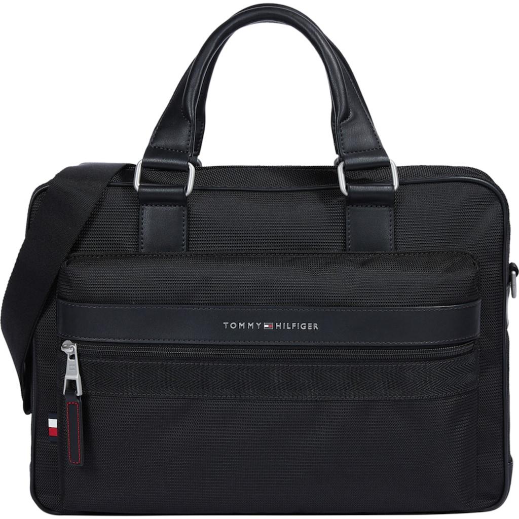 Tommy Hilfiger Messenger Bag »ELEVATED NYLON COMPUTER BAG«, mit praktischer Einteilung