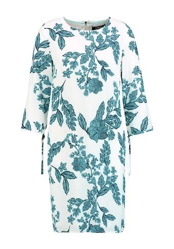 Taifun Kleid Langarm kurz »Kleid mit Floral - Print« kaufen