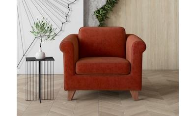 machalke® Sessel »amadeo«, mit geschwungenen Armlehnen kaufen
