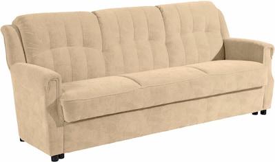 Max Winzer® 3-Sitzer »Manhattan«, inklusive Bettfunktion & Bettkasten, Breite 207 cm kaufen