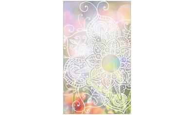 MYSPOTTI Fensterfolie »mySPOTTI look Zangtangel white«, 60 x 100 cm, statisch haftend kaufen