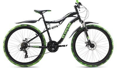 KS Cycling Mountainbike »Crusher«, 21 Gang Shimano Tourney Schaltwerk, Kettenschaltung kaufen