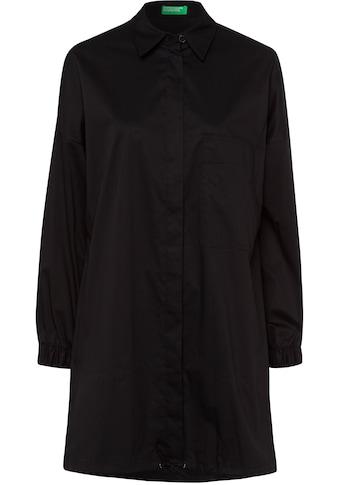 United Colors of Benetton Hemdblusenkleid, mit geraffter Rückenpassennaht kaufen