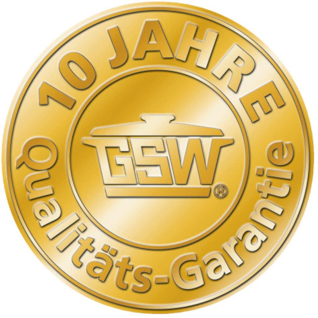 GSW Bratpfanne »INOXXALplus«, Edelstahl, (1 tlg.), Induktion