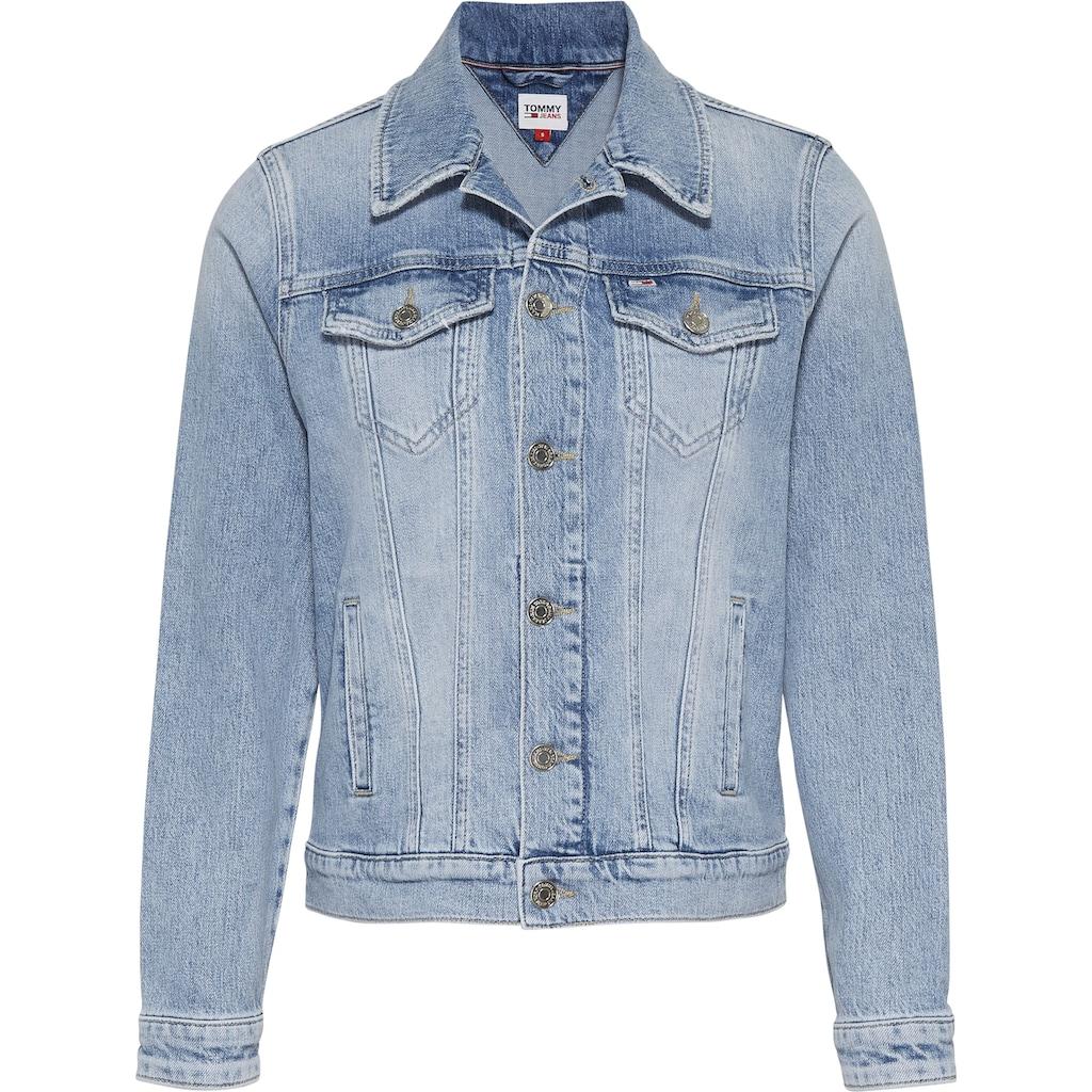 Tommy Jeans Jeansjacke »OVERSIZE TRUCKER JACKET ALBCD«, mit Oversized-Form im Trucker-Stil