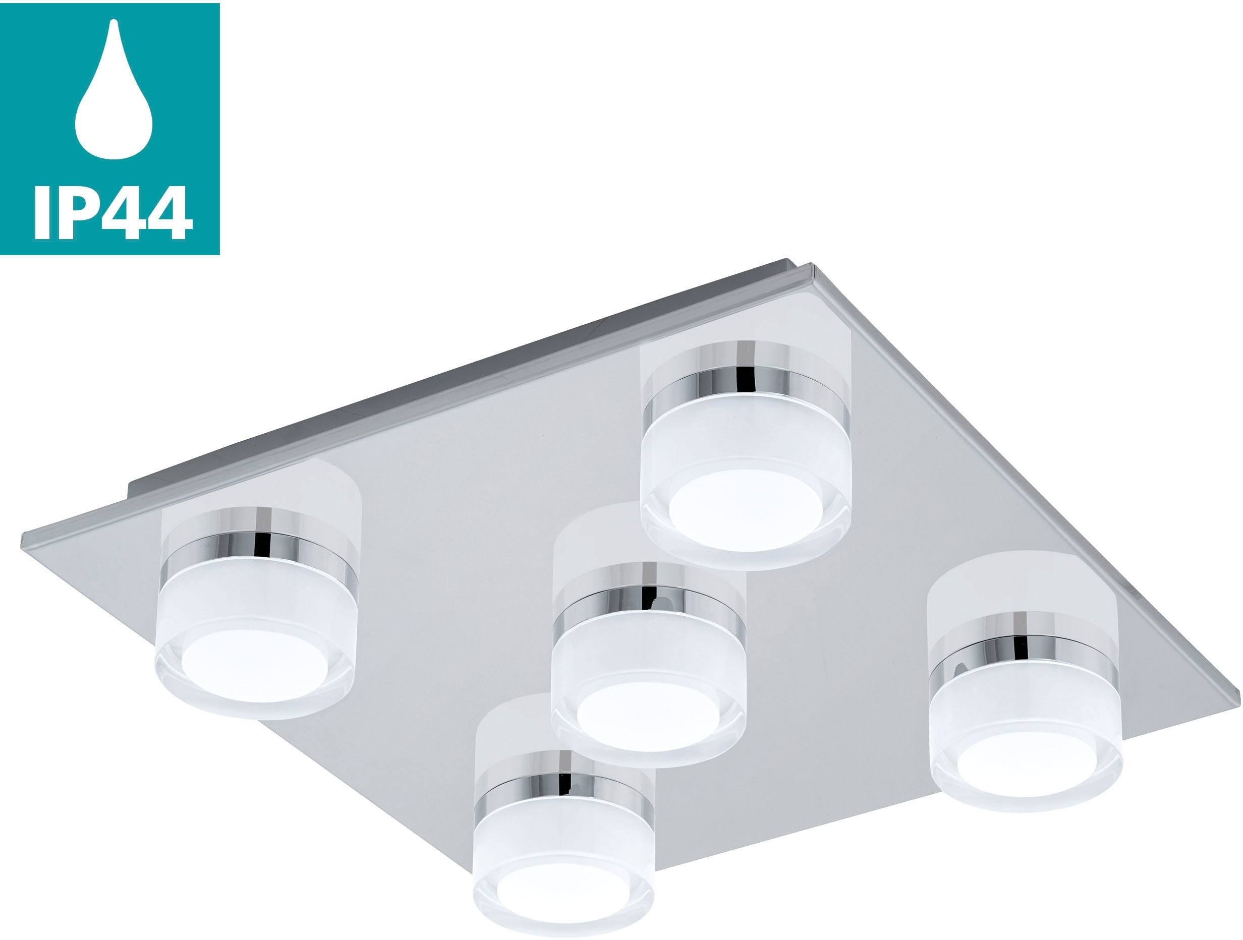 EGLO LED Deckenleuchte ROMENDO, LED-Board, Warmweiß, LED Deckenlampe