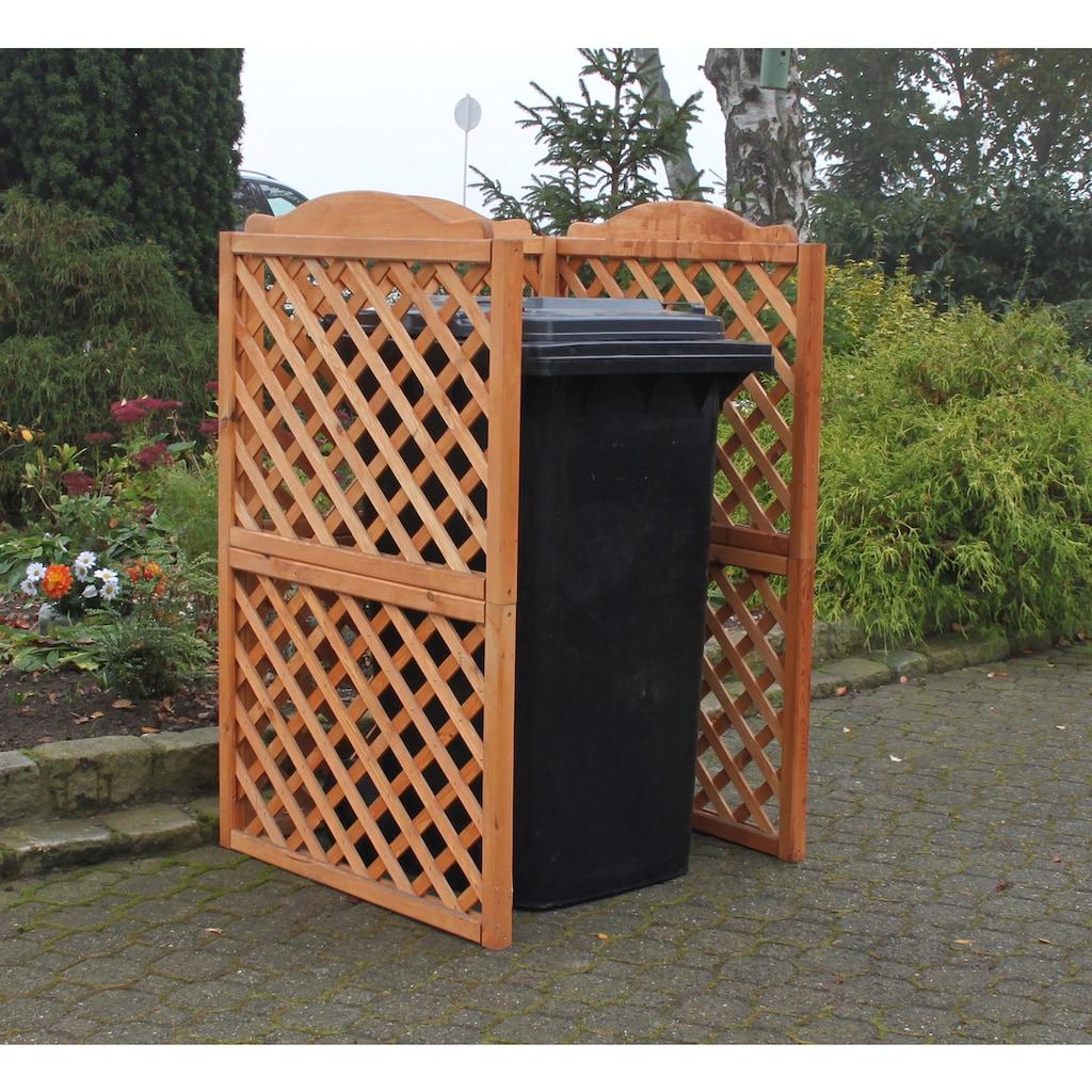 promadino Mülltonnenbox »Rex«, Abtrennung, für 1 x 240 l