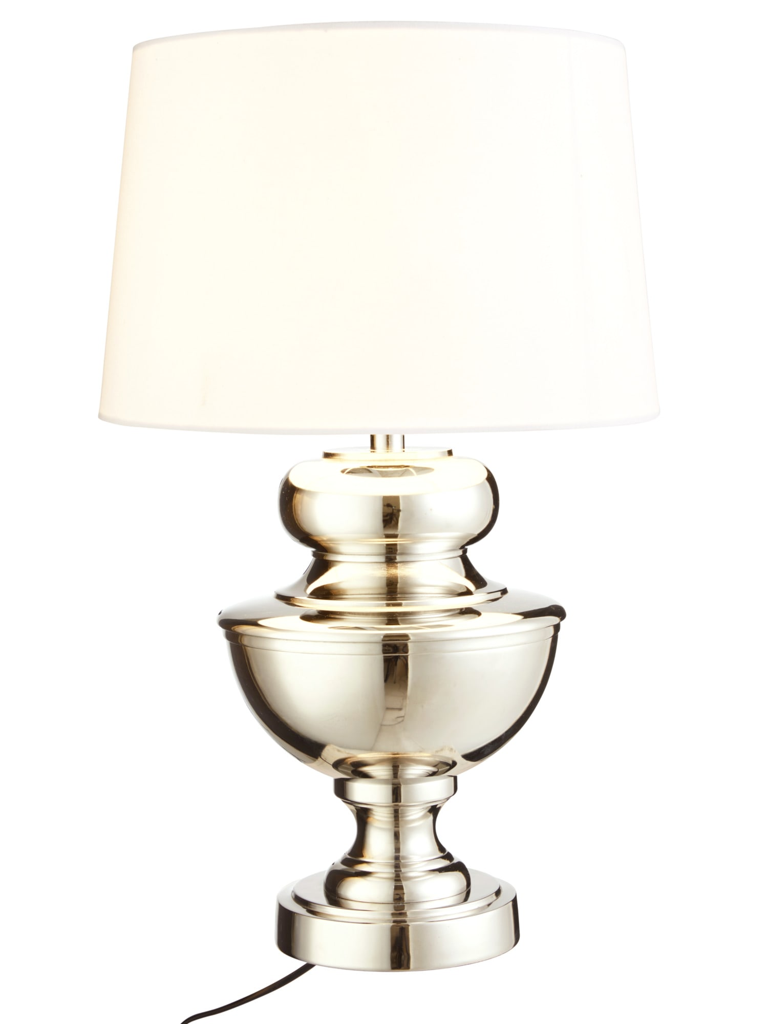 heine home Tischleuchte mit attraktivem Metallfuß