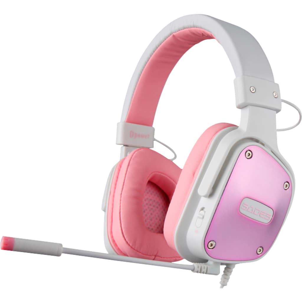Sades Gaming-Headset »Dpower SA-722«, Kompatibel mit PS4, PS5, Xbox One, Xbox Series X/S und Nintendo Switch