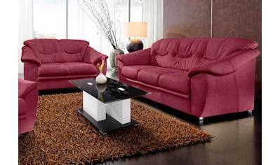 sit&more Polstergarnitur, (2-tlg.), bestehend aus je einem 2- und 3-Sitzer, inklusive... kaufen