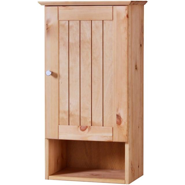 WELLTIME Hängeschrank »Venezia Landhaus«, Breite 33 cm, aus Massivholz